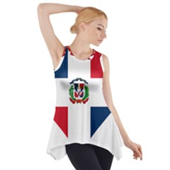 Heart Love Dominican Republic Side Drop Tank Tunic