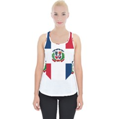 Heart Love Dominican Republic Piece Up Tank Top