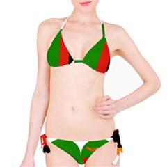 Heart Love Heart Shaped Zambia Bikini Set
