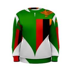 Heart Love Heart Shaped Zambia Women s Sweatshirt