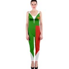 Heart Love Heart Shaped Zambia Onepiece Catsuit
