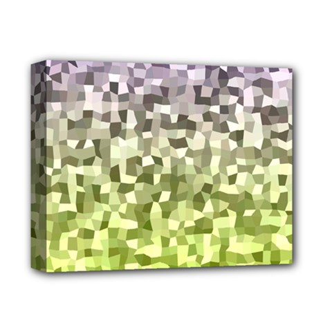 Irregular Rectangle Square Mosaic Deluxe Canvas 14  X 11