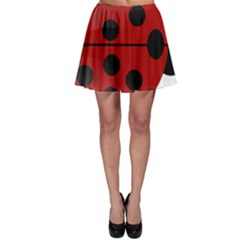 Ladybug Insects Colors Alegre Skater Skirt