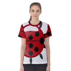 Ladybug Insects Colors Alegre Women s Cotton Tee