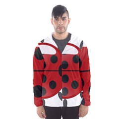 Ladybug Insects Colors Alegre Hooded Wind Breaker (men)
