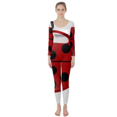 Ladybug Insects Colors Alegre Long Sleeve Catsuit