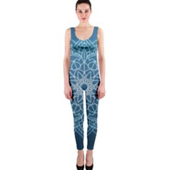 Mandala Floral Ornament Pattern Onepiece Catsuit