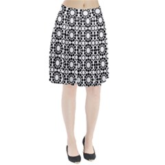 Pattern Seamless Monochrome Pleated Skirt