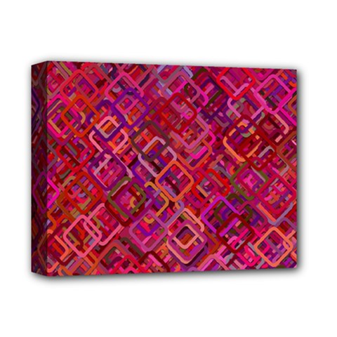 Pattern Background Square Modern Deluxe Canvas 14  X 11