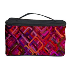 Pattern Background Square Modern Cosmetic Storage Case
