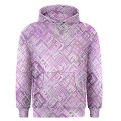 Pink Modern Background Square Men s Pullover Hoodie