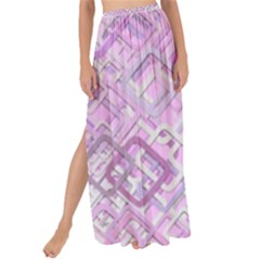 Pink Modern Background Square Maxi Chiffon Tie Up Sarong