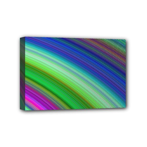 Motion Fractal Background Mini Canvas 6  X 4