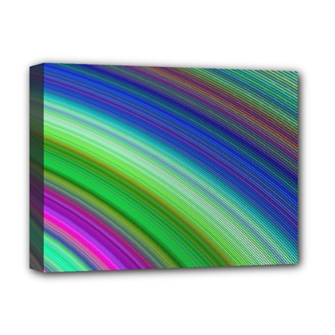 Motion Fractal Background Deluxe Canvas 16  X 12