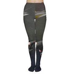 Space Travel Spaceship Space Women s Tights