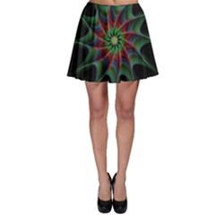 Star Abstract Burst Starburst Skater Skirt