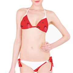 Watermelon Red Network Fruit Juicy Bikini Set