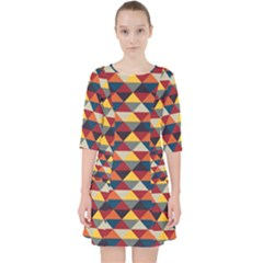 Native American Pattern 16 Pocket Dress