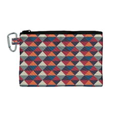 Native American Pattern 21 Canvas Cosmetic Bag (m)