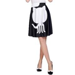 Logo Icon Github A Line Skirt