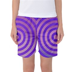 Circle Target Focus Concentric Women s Basketball Shorts