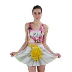 Art Daisy Flower Art Flower Deco Mini Skirt
