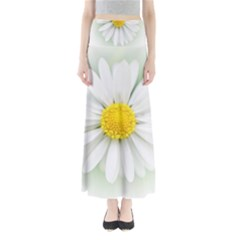 Art Daisy Flower Art Flower Deco Full Length Maxi Skirt