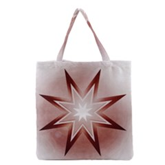Star Christmas Festival Decoration Grocery Tote Bag