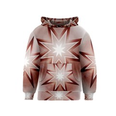 Star Christmas Festival Decoration Kids  Pullover Hoodie