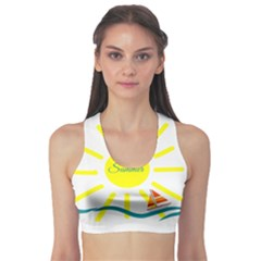 Summer Beach Holiday Holidays Sun Sports Bra