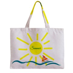 Summer Beach Holiday Holidays Sun Zipper Mini Tote Bag