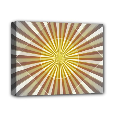 Abstract Art Modern Abstract Deluxe Canvas 14  X 11