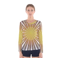 Abstract Art Modern Abstract Women s Long Sleeve Tee
