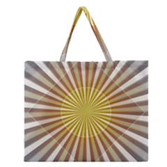 Abstract Art Modern Abstract Zipper Large Tote Bag