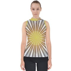 Abstract Art Modern Abstract Shell Top