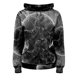 Space Universe Earth Rocket Women s Pullover Hoodie