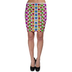 So Sweet And Hearty As Love Can Be Bodycon Skirt