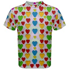 So Sweet And Hearty As Love Can Be Men s Cotton Tee