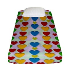 So Sweet And Hearty As Love Can Be Fitted Sheet (single Size)
