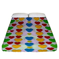 So Sweet And Hearty As Love Can Be Fitted Sheet (king Size)