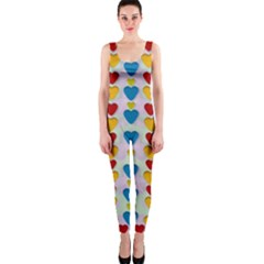 So Sweet And Hearty As Love Can Be Onepiece Catsuit