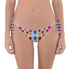 So Sweet And Hearty As Love Can Be Reversible Bikini Bottom