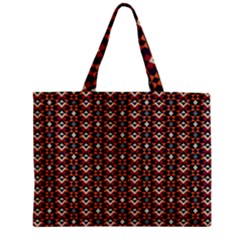 Native American Pattern 22 Zipper Mini Tote Bag