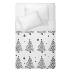 Christmas Tree   Pattern Duvet Cover (single Size)