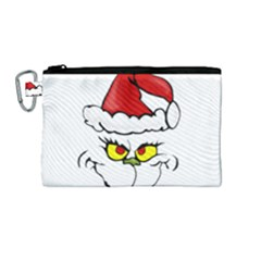 Grinch Canvas Cosmetic Bag (m)