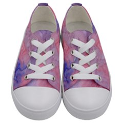 Mr  Hughes Blues Kids  Low Top Canvas Sneakers