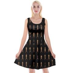 85 Oscars Reversible Velvet Sleeveless Dress