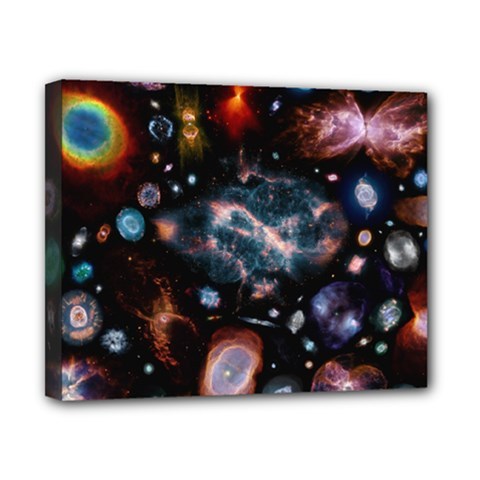 Galaxy Nebula Canvas 10  X 8