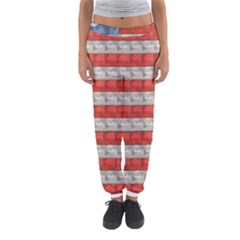 Geometricus Usa Flag Women s Jogger Sweatpants