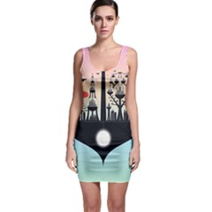 Future City Bodycon Dress
